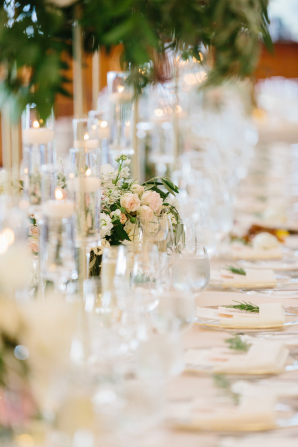 Pale Pink and Green Reception