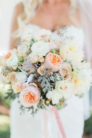 Peach and Blush Bouquet