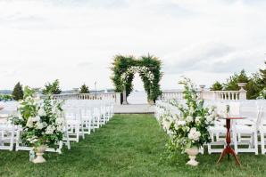 Seaside Outdoor Wedding Ceremony