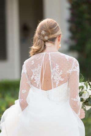 Sheer Wedding Gown Separates