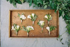 White Boutonnieres