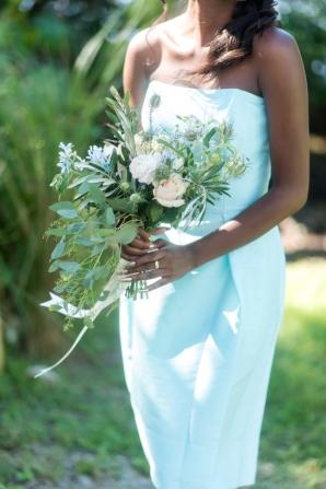 Aqua Bridesmaids Dress