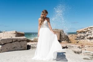 Bride by the Ocean in Florida