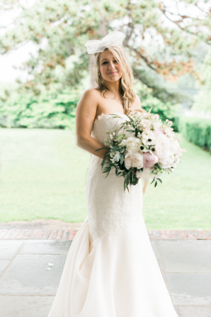 Bride in Paloma Blanca Gown