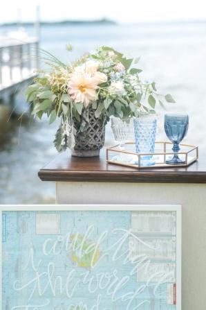 Map Wedding Print