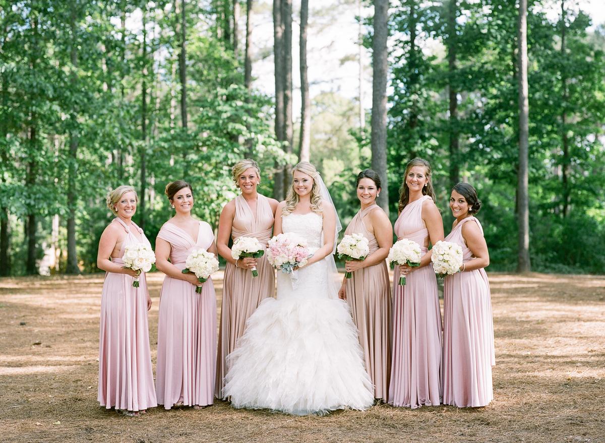 Pink two birds bridesmaids dresses elizabeth anne designs the pink two birds bridesmaids dresses elizabeth anne designs the wedding blog ombrellifo Images