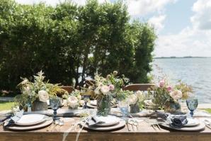 Waterside Wedding Tabletop