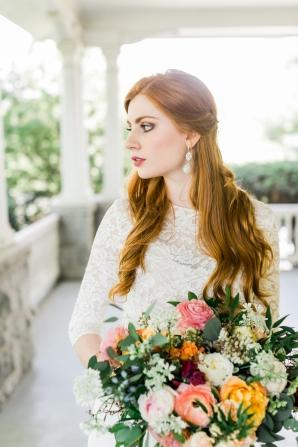 Bridal Portrait by Alexis June Weddings