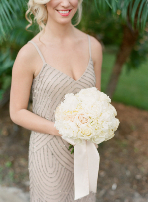 Bridesmaid in Adriana Papell
