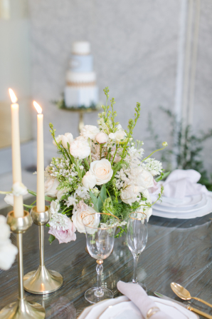 Centerpiece with Garden Roses