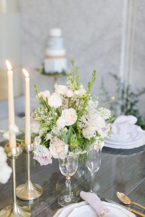Centerpiece with Garden Roses