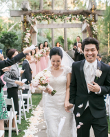 Garden Wedding in Malibu 7