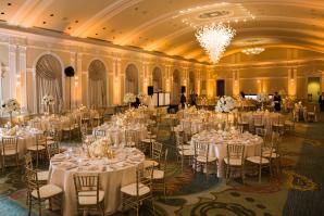 Gold Ballroom Wedding in Florida