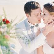Luminous Ethereal Beach Wedding Inspiration Elizabeth