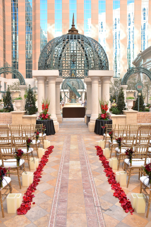 Outdoor Ceremony at The Venetian