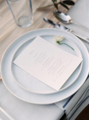 Pale Blue Wedding China