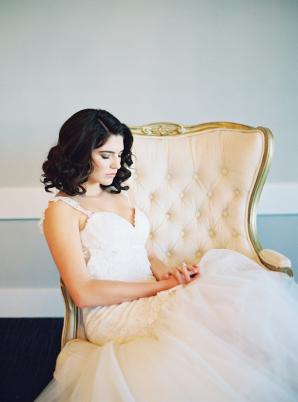 Romantic Bridal Portrait Audrey Norman