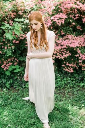 Romantic Mountain Bride