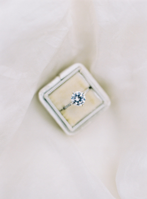 Solitaire Engagement Ring from Susie Saltzman