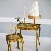 Vintage Wedding Cake Display