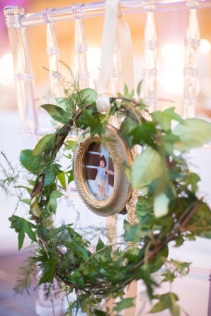 Wedding Wreath Chair Decor