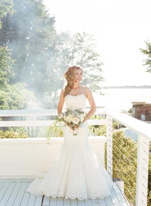 Bride in RK Bridal Gown
