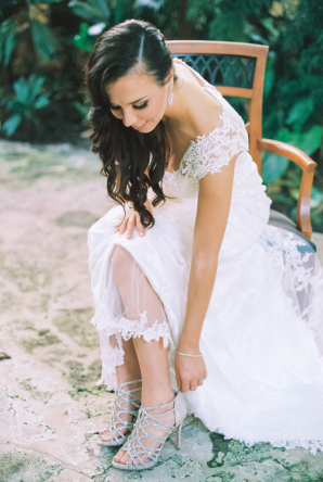 Bride in Sottero and Midgley Gown