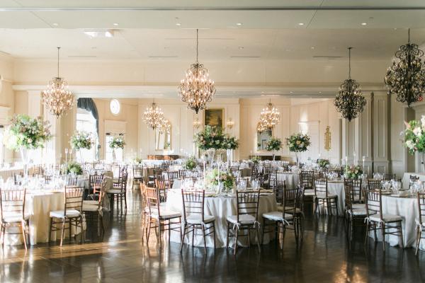 DC Country Club Wedding Reception