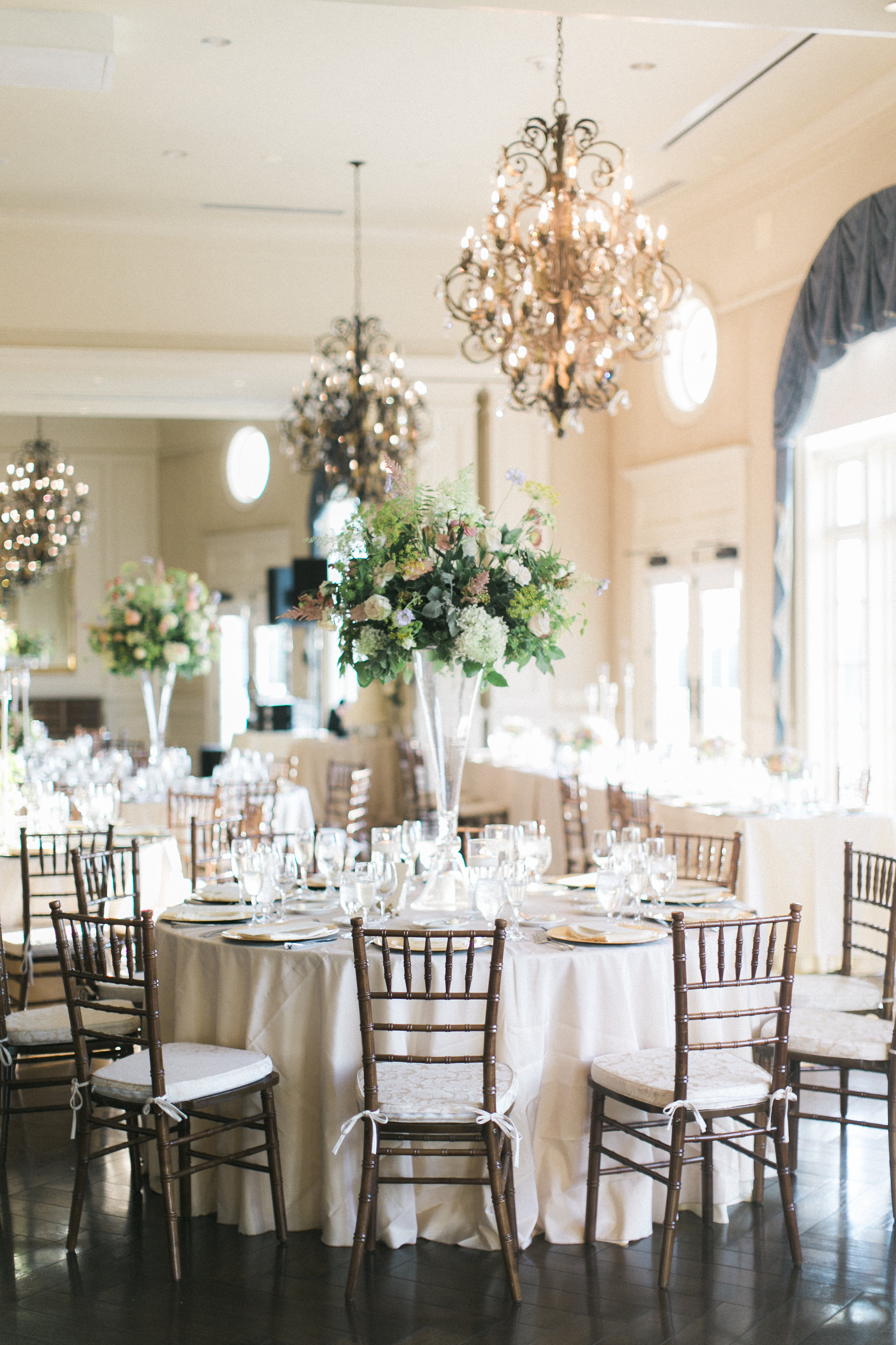 Gold and Ivory Country Club Wedding