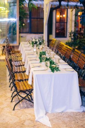 Intimate Terrace Wedding