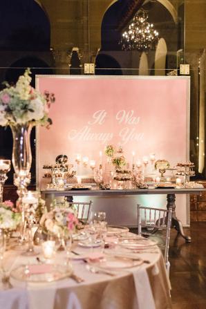 Large Framed Wedding Backdrop