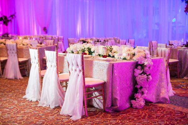 Lux White Wedding Reception