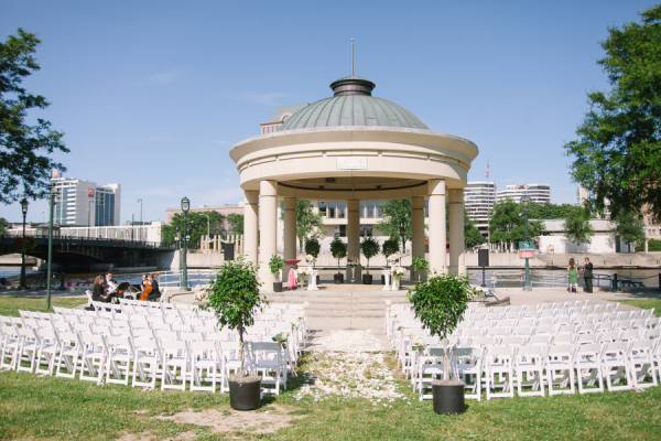 Milwaukee Historical Society Wedding 1