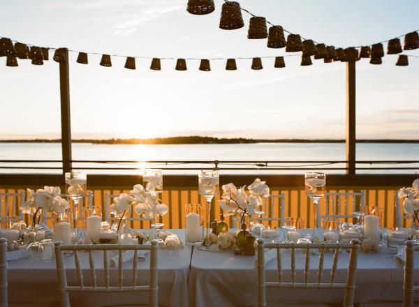 Orchid Wedding Reception