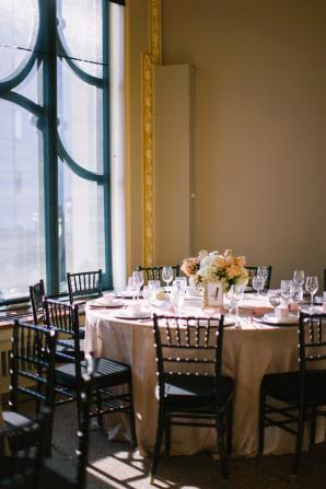 Peach Ballroom Wedding