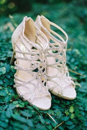 Strappy Bridal Shoes
