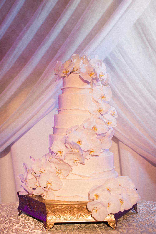 Orchid Wedding Cakes Desserts. 10 Orchid Elegant Cream Cakes Photo ...