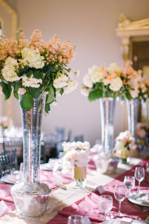 Trumpet Centerpieces with Stock