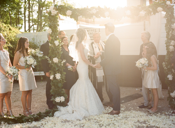 Wedding Ceremony Under Chuppah