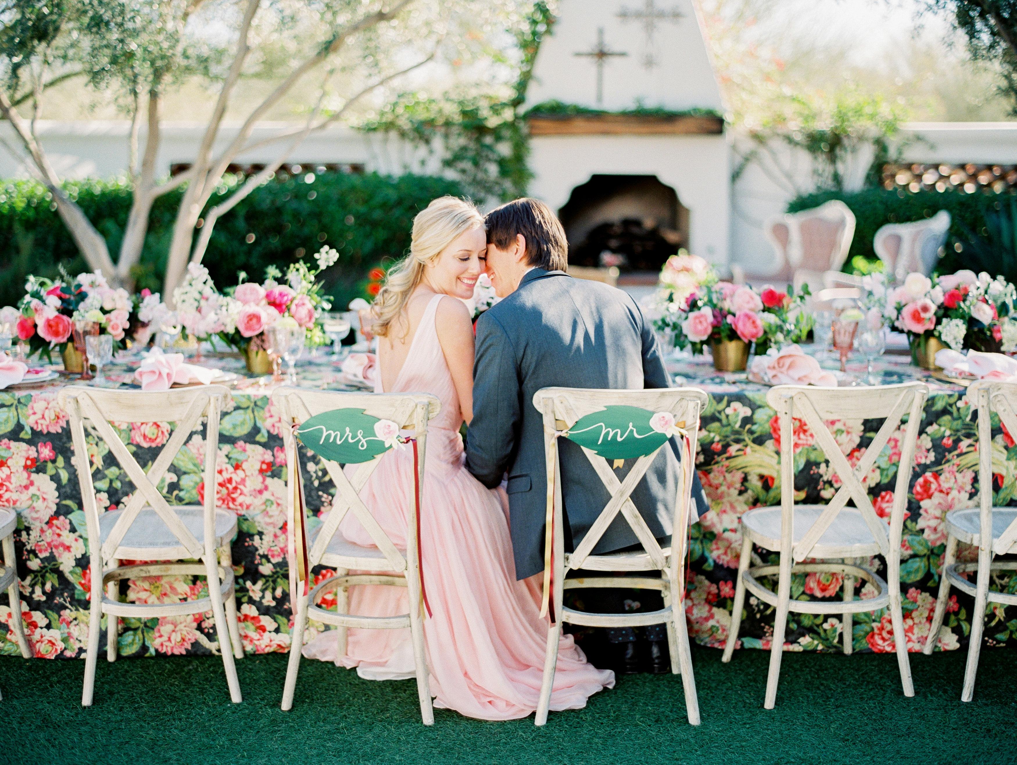 Colorful floral wedding inspiration elizabeth anne for Garden wedding designs philippines