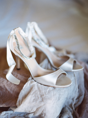 Champagne Bride Shoes
