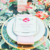 Flower Wedding Linen