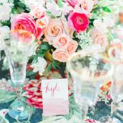 Multicolor Floral Wedding Table