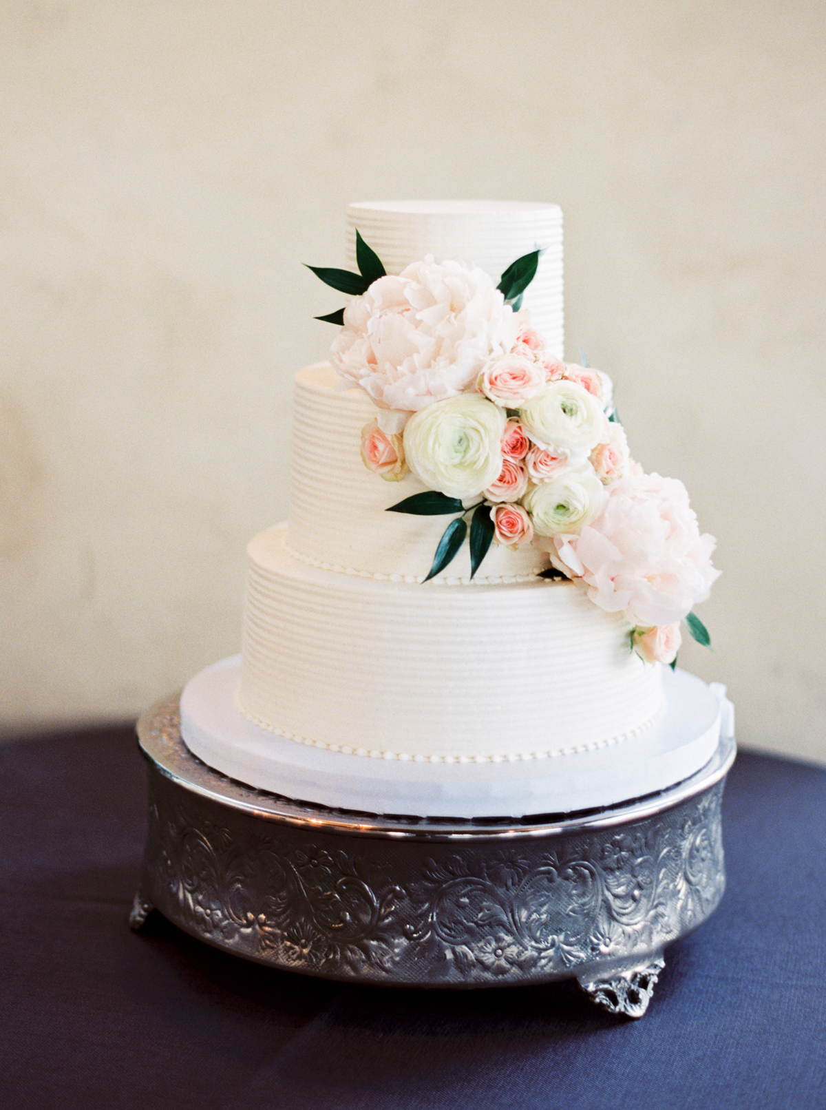 Wedding Cake with Cascading Roses - Elizabeth Anne Designs: The ...