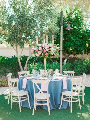 Wedgwood Blue Wedding Table