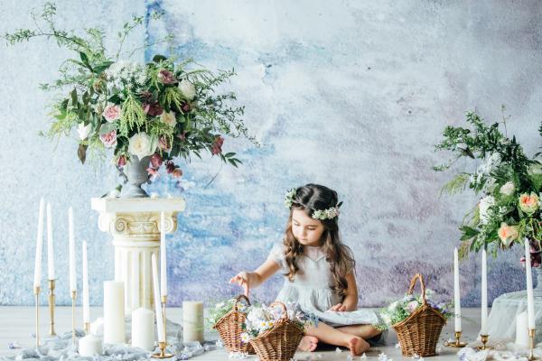 Angelic Flower Girl