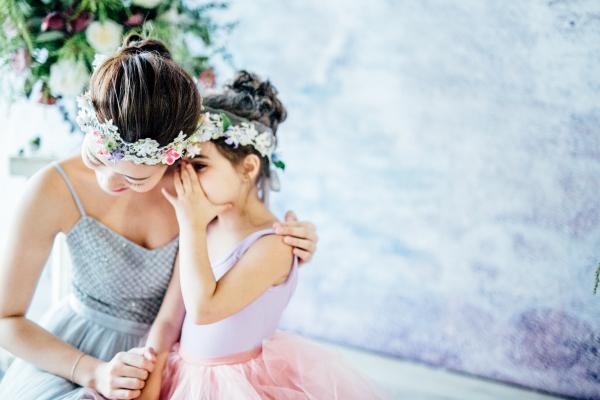 Ballerina Flower Girl