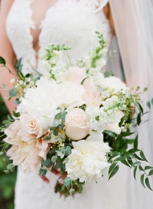 Blush Rose and Dahlia Bouquet