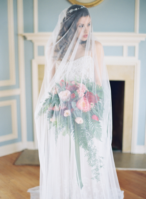 Bride in Gown with Anna Be