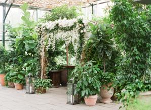 Greenhouse Wedding Ceremony